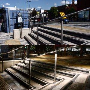 Handrails for safety Day and Night