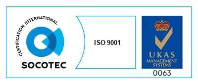 UKAS Colour Certification mark 9001