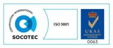 UKAS Colour Certification mark 9001